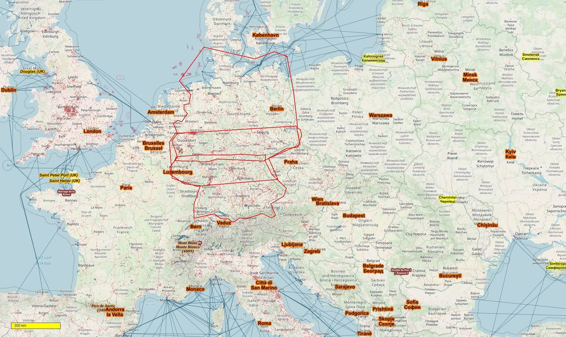 Map Of Deutschland Germany.German Cycle And Hiking Topo Maps Download For Android Smartphones