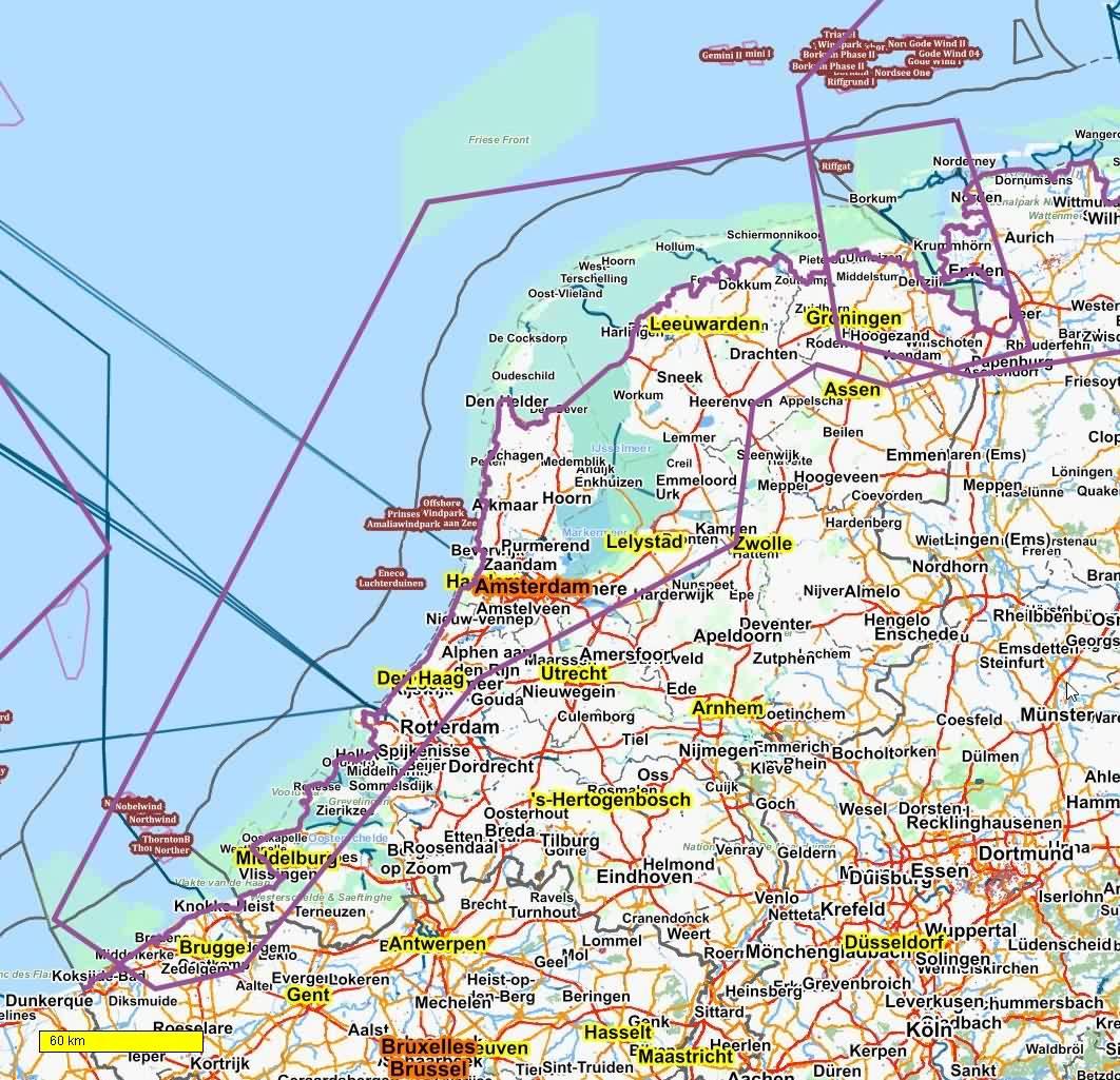 EV12 Nordseeküsten Radweg / OpenAndroMaps