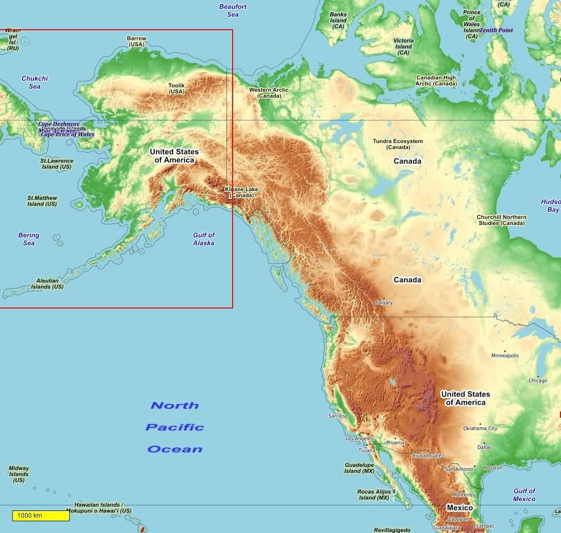 Golf Von Alaska Karte.Usa Radkarten Und Wanderkarten Download Fur Android Smartphones