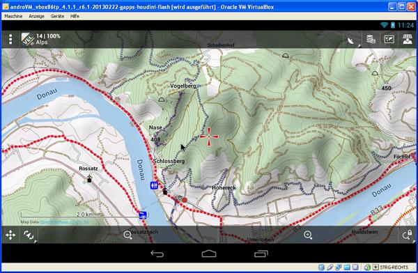 Locus in VM / Wachau mit hillshading