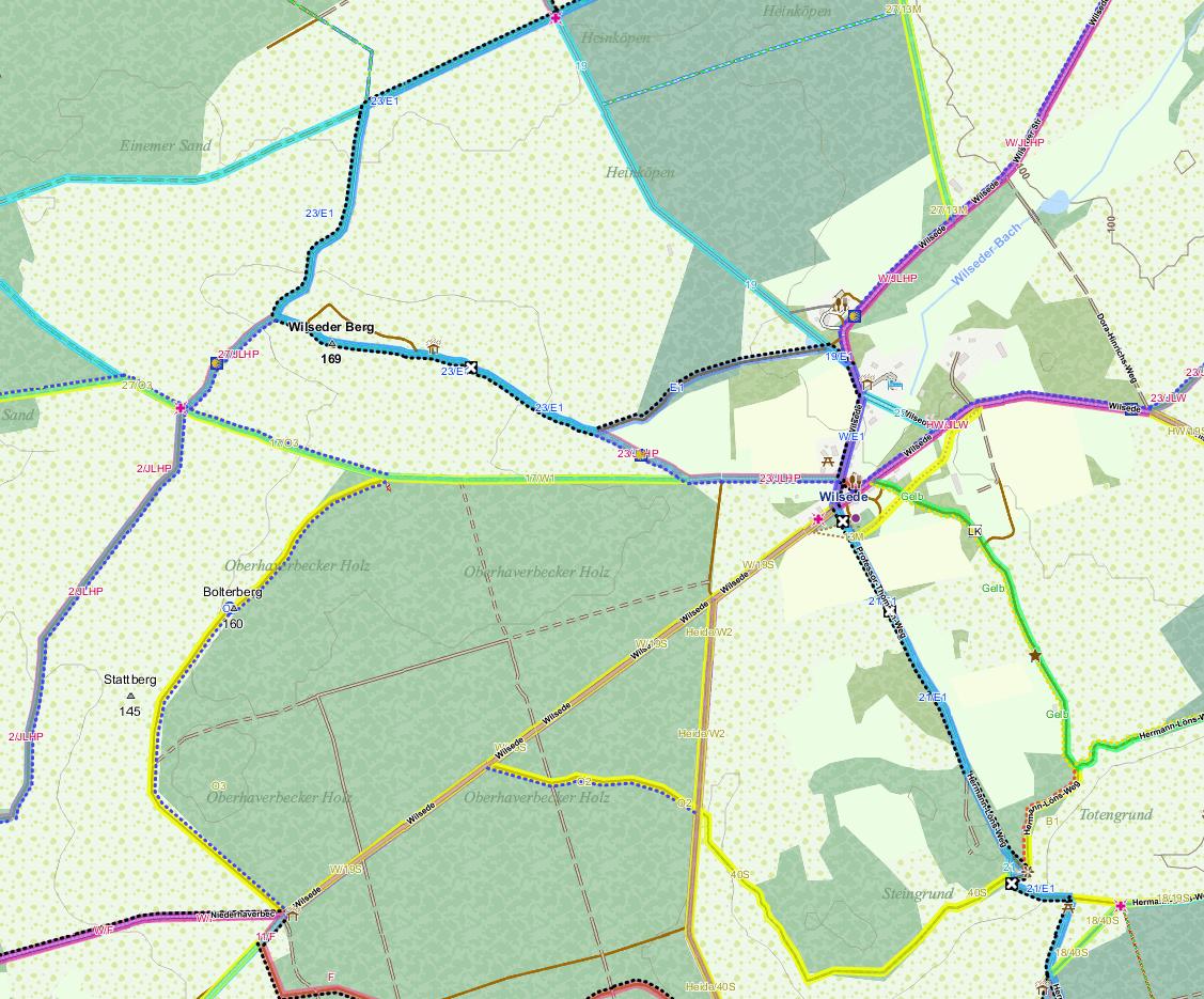 Karte mit Thema Elevate