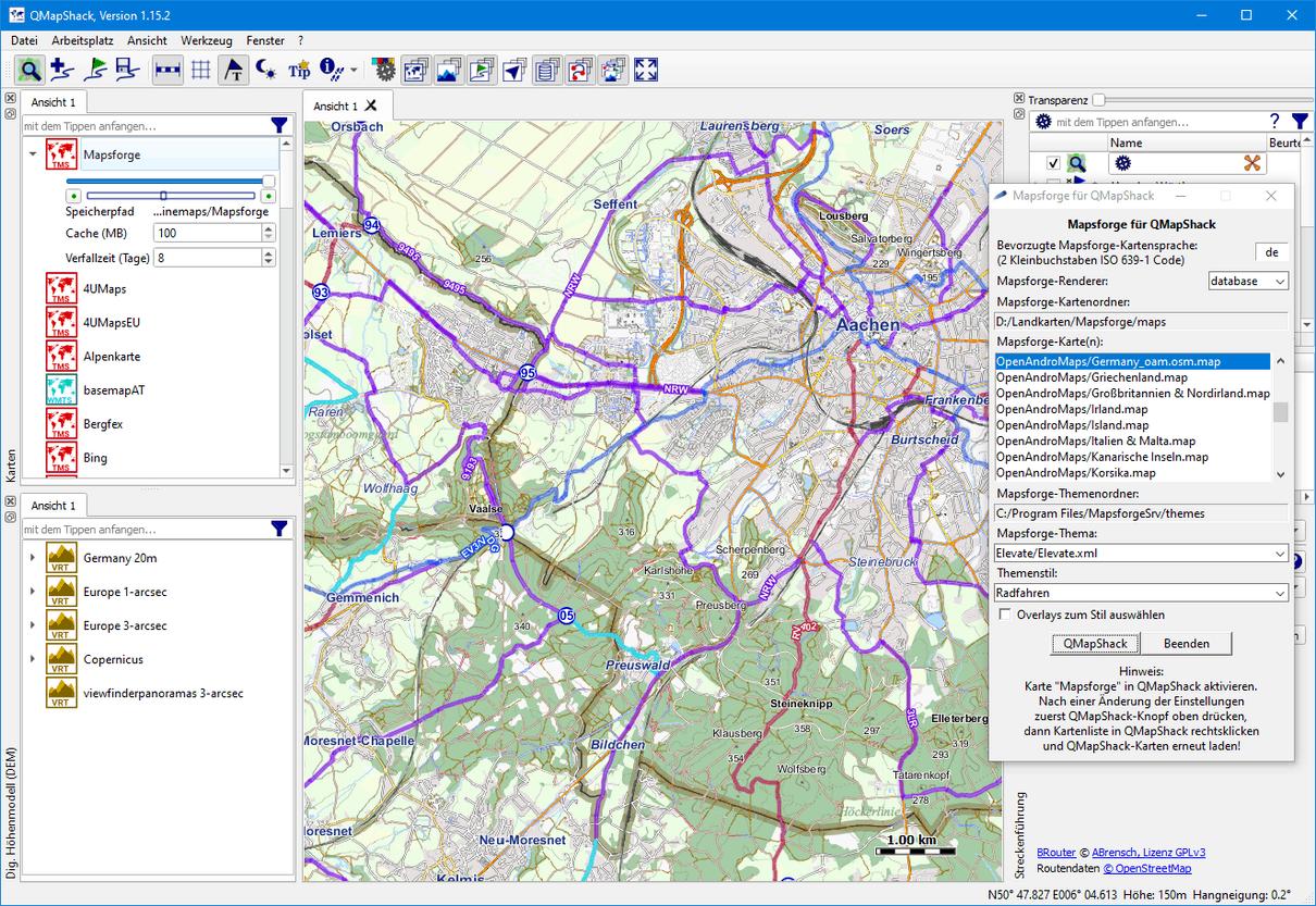 Germany_oam_osm.map in QMapShack